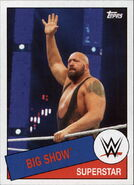 2015 WWE Heritage Wrestling Cards (Topps) Big Show 63