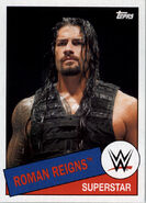 2015 WWE Heritage Wrestling Cards (Topps) Roman Reigns 88