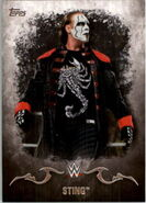 2016 Topps WWE Undisputed Wrestling Cards Sting 34
