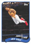 2018 WWE Heritage Wrestling Cards (Topps) Jey Uso 33