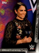 2018 WWE Women's Division (Topps) Dasha Fuentes 12