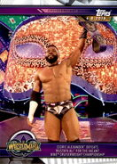 2019 WWE Road to WrestleMania Trading Cards (Topps) Cedrix Alexander 54