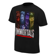 WWE Immortals Beyond The Ring Official Youth T-Shirt