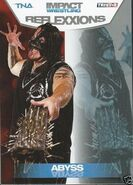 2012 TNA Impact Wrestling Reflexxions Trading Cards (Tristar) Abyss 39