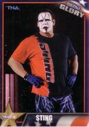 2013 TNA Impact Glory Wrestling Cards (Tristar) Sting 4