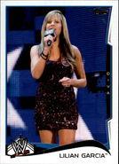 2014 WWE (Topps) Lilian Garcia 80