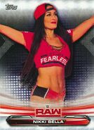 2019 WWE Raw Wrestling Cards (Topps) Nikki Bella 54