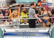 2019 WWE Women's Division (Topps) Carmella 78