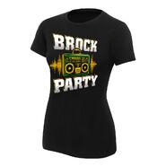 Brock Lesnar Brock Party Women's Authentic T-Shirt