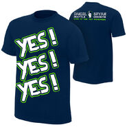 Daniel Bryan YES YES YES Seattle Special Edition T-Shirt