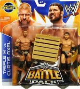 WWE Battle Packs 26 Curtis Axel & Triple H