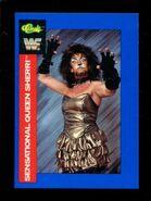 1991 WWF Classic Superstars Cards Sensational Queen Sherri 56