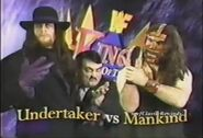 1st Match With Mankind
