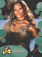 2001 WWF The Ultimate Diva Collection (Fleer) Jacqueline 25