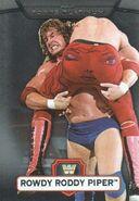 2010 WWE Platinum Trading Cards Rowdy Roddy Piper 121