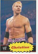 2012 WWE Heritage Trading Cards Christian 11