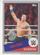 2015 WWE Heritage Wrestling Cards (Topps) John Cena 75