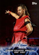 2018 WWE Road to Wrestlemania Trading Cards (Topps) Shinsuke Nakamura 83