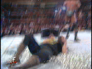 Royal Rumble 2000 Foley injured with tacks