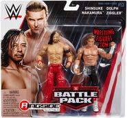 WWE Battle Packs 53 Shinsuke Nakamura & Dolph Ziggler