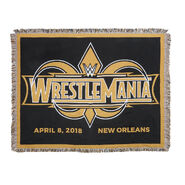 WrestleMania 34 Tapestry Blanket