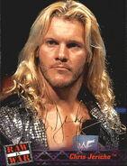 2001 WWF RAW Is War (Fleer) Chris Jericho 5