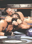 2003 WWE WrestleMania XIX (Fleer) Chris Benoit 6