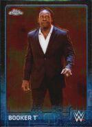 2015 Chrome WWE Wrestling Cards (Topps) Booker T 9
