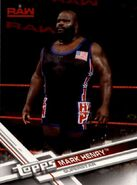2017 WWE (Topps) Then, Now, Forever Mark Henry 127