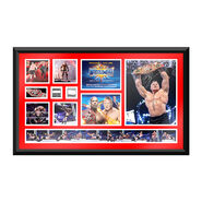 Brock Lesnar WrestleMania 33 Signed Commemorative Plaque