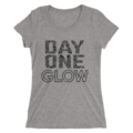 Jimmy Uso & Naomi Day One Glow Women's Tri-Blend T-Shirt