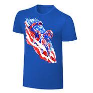 Kurt Angle Rob Schamberger Art Print T-Shirt