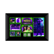 Undertaker WrestleMania 34 Commemorative Plaque