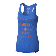 WrestleMania 33 Women's Royal Blue Tank Top