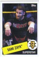 2015 WWE Heritage Wrestling Cards (Topps) Sami Zayn 108