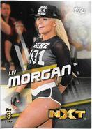 2016 WWE Divas Revolution Wrestling (Topps) Liv Morgan 41