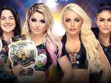 Clash of Champions 2019 Alexa Bliss & Nikki Cross v Mandy Rose & Sonya Deville