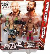 WWE Battle Packs 22 Ryback & Jinder Mahal