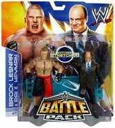 WWE Battle Packs 25 Paul Heyman & Brock Lesnar