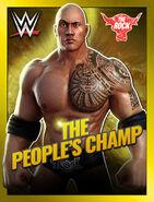 WWE Champions Poster - 022 TheRockModern01