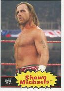 2012 WWE Heritage Trading Cards Shawn Michaels 53