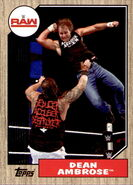 2017 WWE Heritage Wrestling Cards (Topps) Dean Ambrose 47