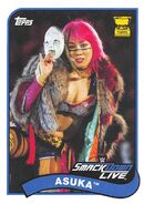 2018 WWE Heritage Wrestling Cards (Topps) Asuka 7