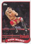 2018 WWE Heritage Wrestling Cards (Topps) Dash Wilder 113