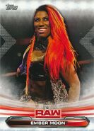 2019 WWE Raw Wrestling Cards (Topps) Ember Moon 29