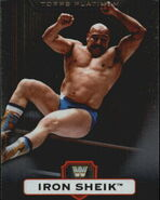 2010 WWE Platinum Trading Cards Iron Sheik 10