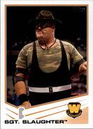 2013 WWE (Topps) Sgt. Slaughter 105