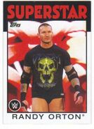 2016 WWE Heritage Wrestling Cards (Topps) Randy Orton 27