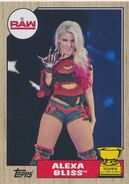 2017 WWE Heritage Wrestling Cards (Topps) Alexa Bliss 40