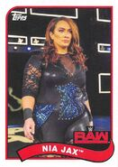 2018 WWE Heritage Wrestling Cards (Topps) Nia Jax 55